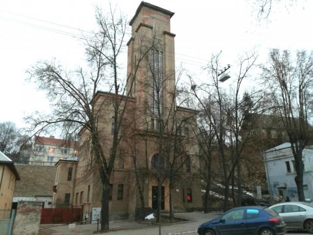 K. Reisono projektuota evangelikų reformatų bažnyčia Kaune