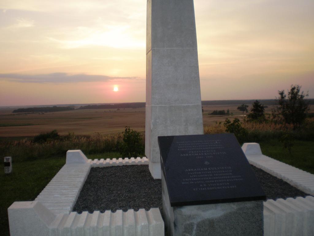 A. Kulviečio menama kapo vieta